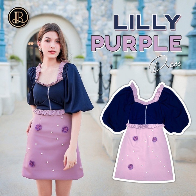 BLT Dress Lilly Purple M