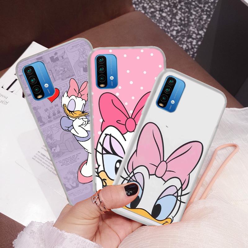 เคสโทรศัพท์มือถือแบบใสลายดอกเดซี่สําหรับ Huawei Nova 2i 3i 5t Y6 2018 Y6p Y7 2019 Y7a Y9 Prime 110c Donald And Duck