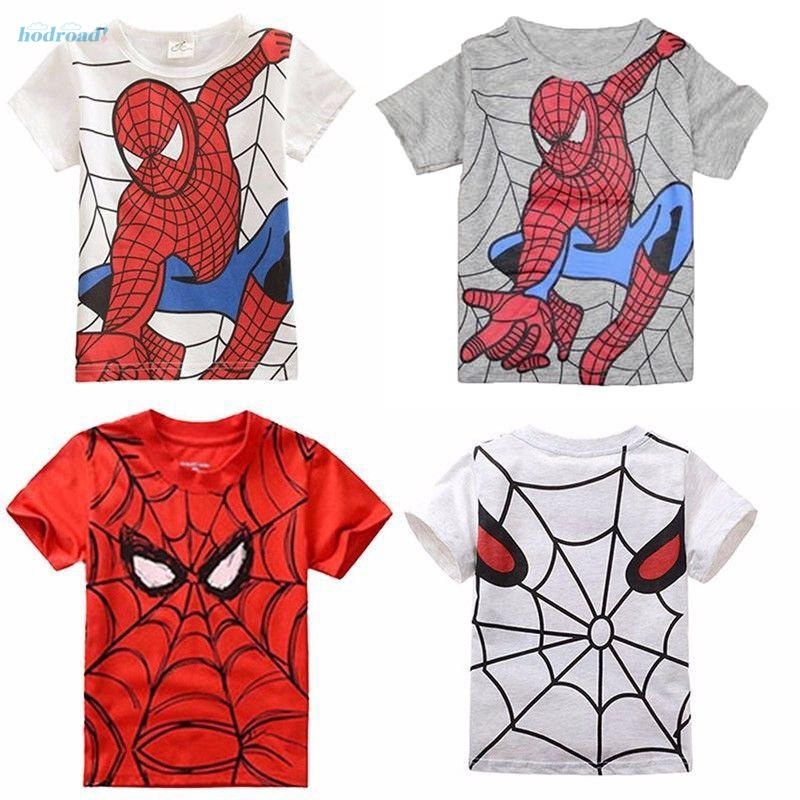 Roblox Spider Man Homecoming Shirt - เสอยด แขนสน ลายการตน Spider Man