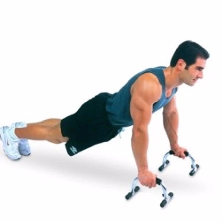 SportShop เครื่องออกกำลังกาย ลดหน้าท้อง ต้นขาสะโพก ยขึ้น ลดพุง ได้ Iron Push Up Stand (IRON) เครื่องออกกําลังกายคาร์ดิโอ