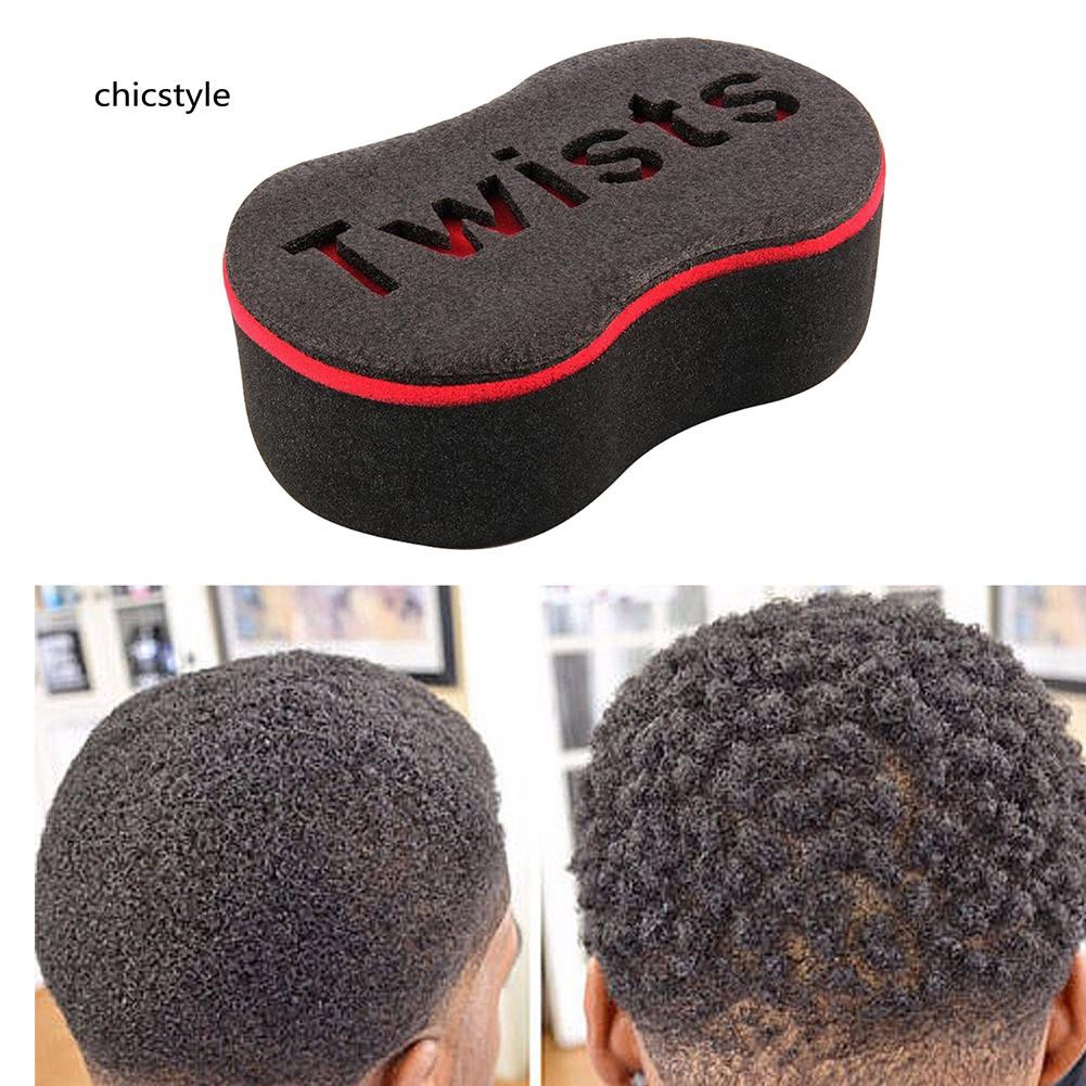 Frank New Brand Double Sided Barber Hair Brush Sponge Dreads Locking Twist Coil Afro Curl Wave Selected Material Personal Care Appliance Parts