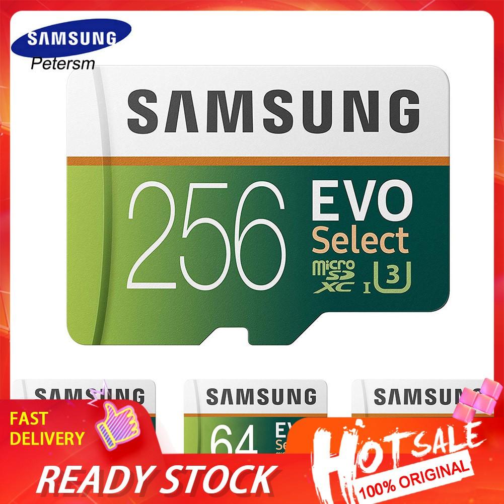 Xp_samsung Evo 64 G / 128 G / 256 G / 512 G / 1t Tf การ์ดหน่วยความจําสําหรับแท็บเล็ตกล้อง