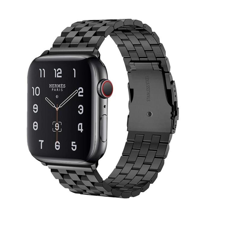 สาย apple watch stainless steel เรียบหรู ใส่ได้ทุกซีรีย์ สาย applewatch Series 6 5 4 3 2 1,Apple Watch SE สายนาฬิกา appl