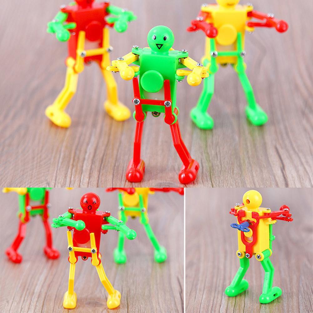 Cheerful Clockwork Wind Up Dancing Robot Toy For Baby Kids Developmental Toys