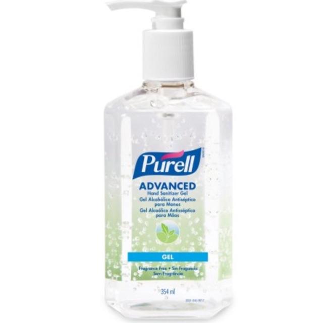 🇺🇸🇺🇸Purell Advanced เจลล้างมือจากอเมริกาที่โรงพยาบาลชั้นนำ ขวดหัวปั้มขนาด354ML acohol 70%