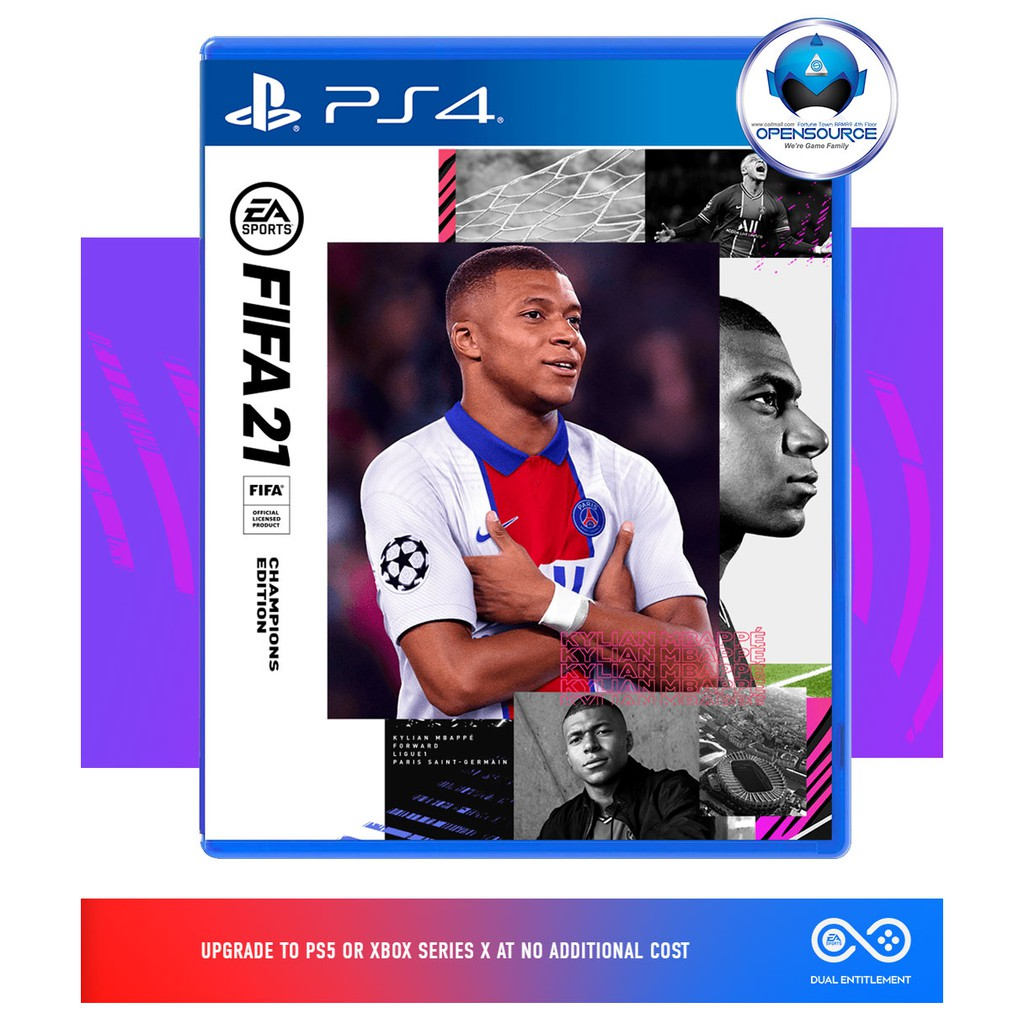 FIFA 21 - PS4 Champion Edition (ASIA EN/CH/KR )  วางจำหน่ายแล้ว สินค้าพร้อมส่ง