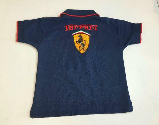เสื้อโปโล เด็ก Ferrari