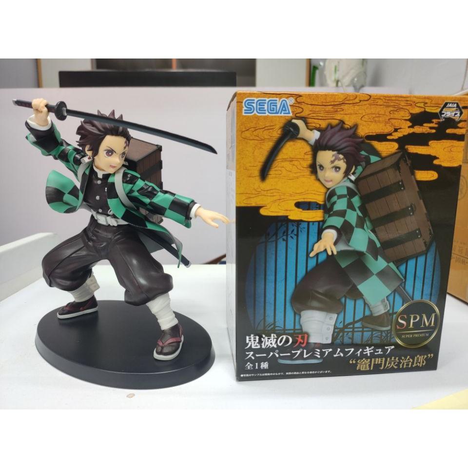 ⊕SEGA Demon Slayer Blade Tanjiro Kadomon Backpack SPM Scenery Boxed Figure Model Decoration