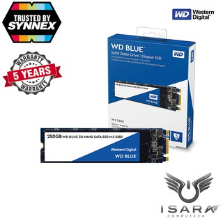 Review WD SSD BLUE 250GB, M.2 2280