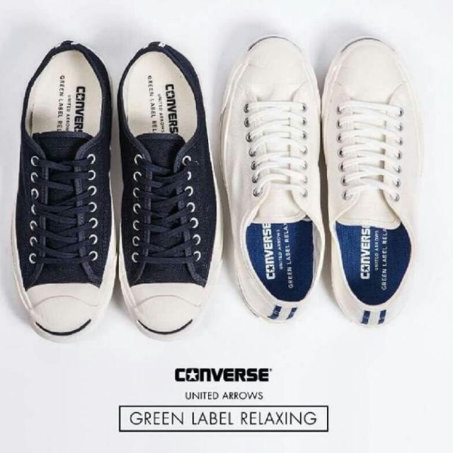 22d0f6c24b1 converse jack purcell green label relaxing (แท้💯% ส่งฟรีEMS ...