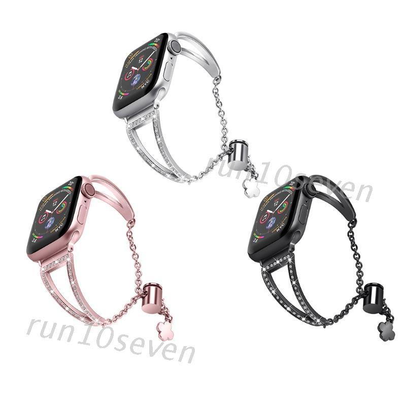 Runs สายนาฬิกาข้อมือสแตนเลสสําหรับ Applewatch