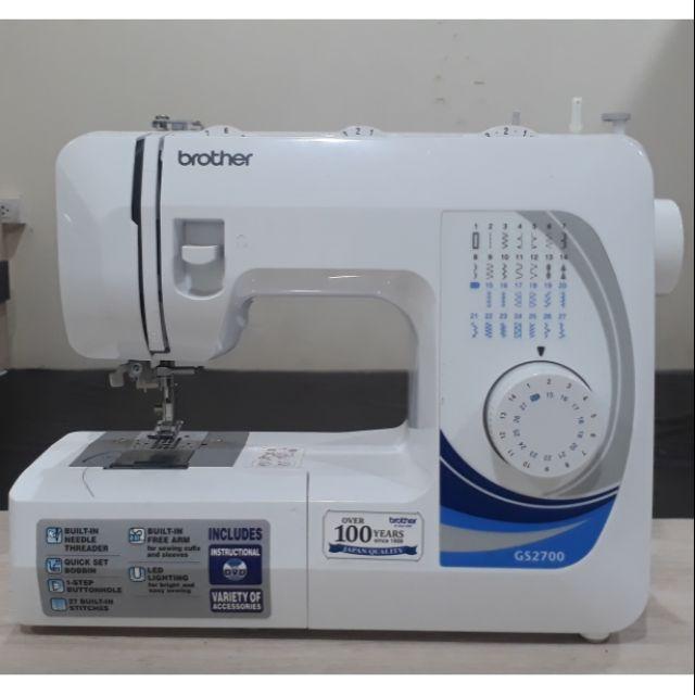 จักรเย็บผ้าไฟฟ้า  brother  รุ่น GS-2700