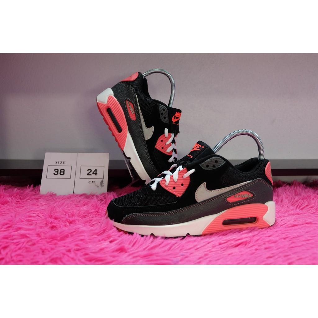 รองเท้า nike air max 90 รองเท้าของแท้มือสอง รองเท้าผ้าใบ รองเท้าแบรนด์แท้มือสอง มือสอง ของแท้ รองเท้าวิ่ง รองเท้าเที่ยว