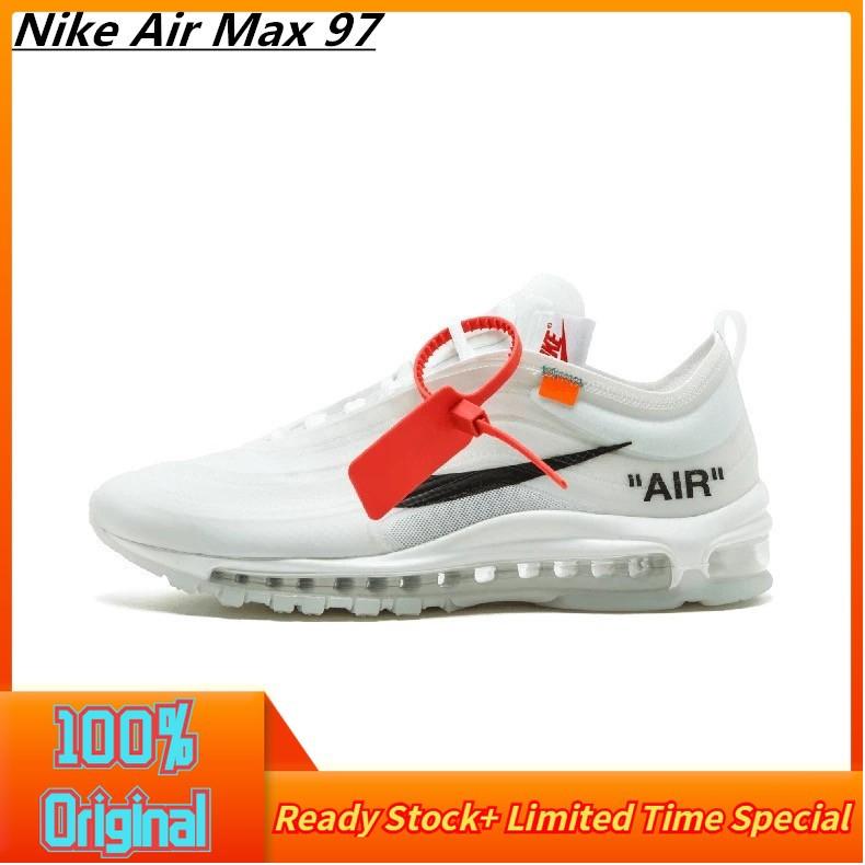 รองเท้าผ้าใบ Nike Air Max 97 สีขาว