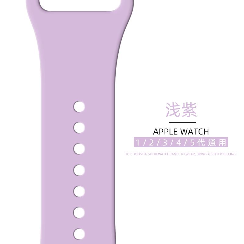 ใช้ได้ครับapplewatchสายนาฬิกา AppleS5ซิลิโคนนุ่มiwatch4/3/2/6/SEตัวแทน38/42/40/44mmใส่ได้ทั้งชายและหญิงiphone seriesการไหลเข้าของสินค้าS4สากล