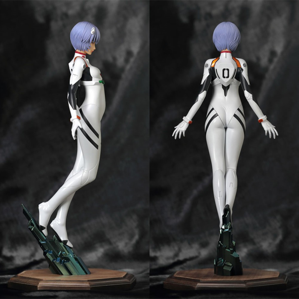 ✆✣Sexy Figure Garage-Kit Unpainted Model-Toys 1/6-Resin Driver Rei Unassembled Ayanami