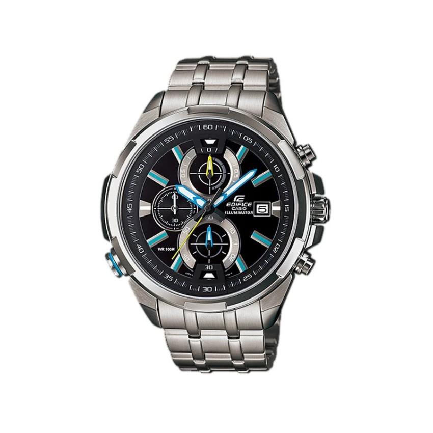 Casio Edifice นาฬิกาข้อมือผู้ชาย สายสแตนเลส รุ่น EFR-536D-1A2 - Silver
