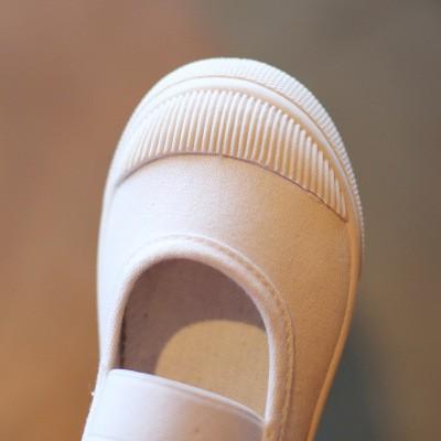 ✒รองเท้าผ้าใบเด็ก รองเท้าเด็กผู้หญิง รองเท้าเด็กผู้ชาย รองเท้าคัชชูพื้นนุ่ม สีขาว รุ่นแคมปัส รองเท้าเด็กถีบ รองเท้าเด็ก