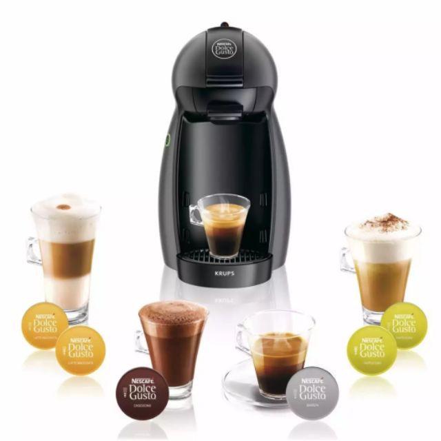 KRUPS เครื่องทำกาแฟแคปซูล NESCAFE DOLCE GUSTO รุ่น KP120866 (รับประกัน 2 ปี) สีดำ