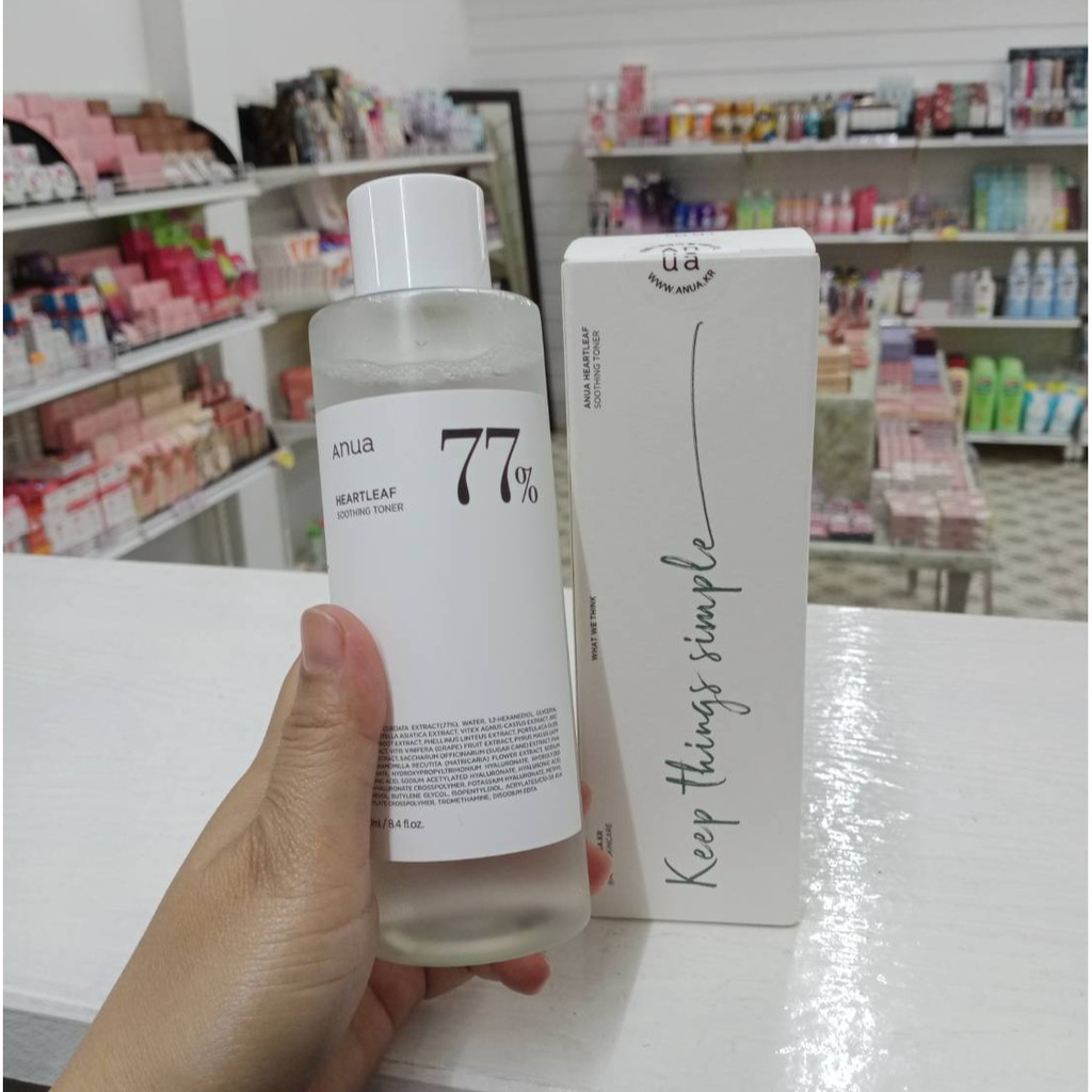 Anua Heartleaf 77% Soothing Toner 250 ml.