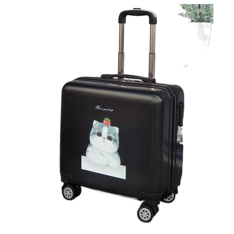 ✒✧[ร้อน] [เคสรถเข็น] กระเป๋าเดินทางขนาดเล็ก กระเป๋าเดินทางขนาดเล็กและเบา กระเป๋าเดินทางรหัสผ่านสำหรับสตรี 20 ใบ ชายตัวเล