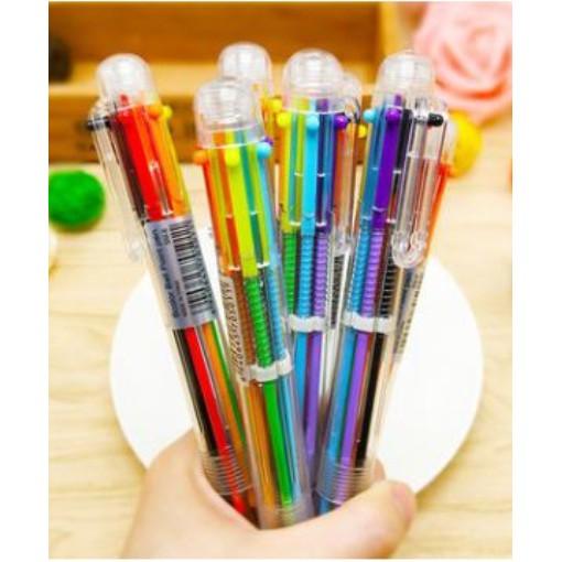 0.7mm - 6 colors MUJI 6 in 1 Ballpoint Pen by MUJI
