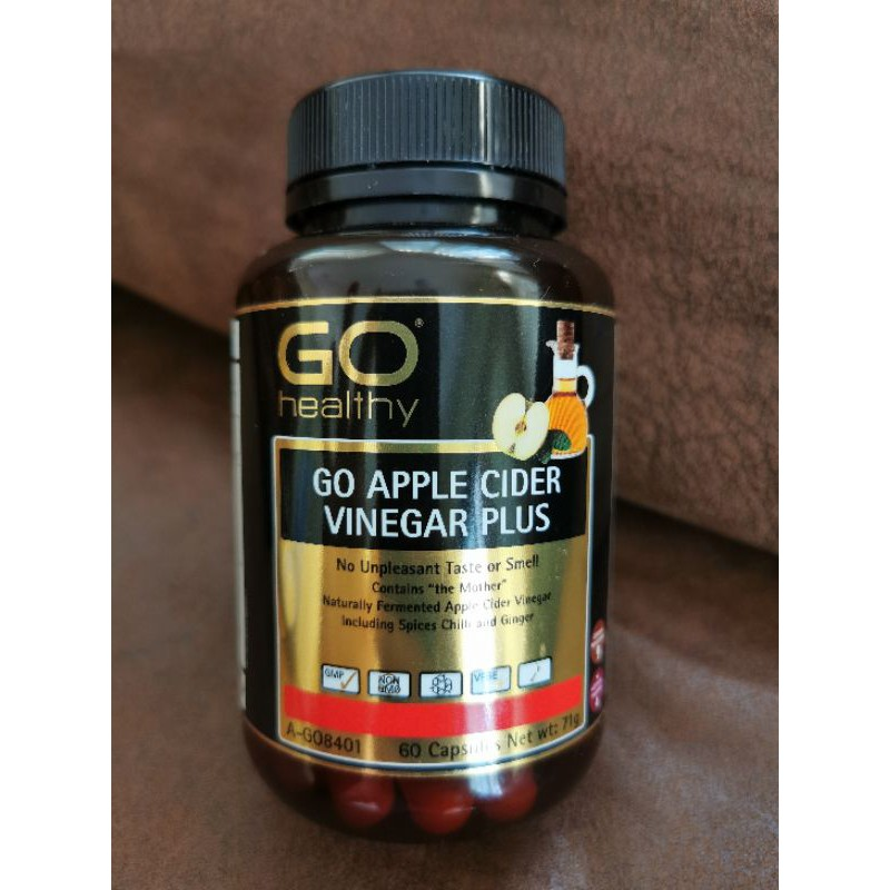 GO healthy go apple cider vinegar plus