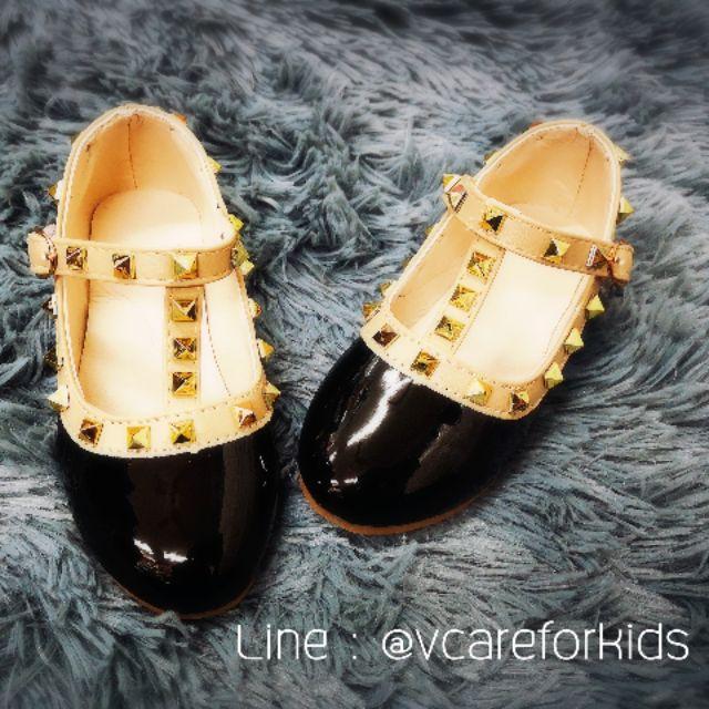 รองเท้าคัชชู เด็กหญิง สีดำ