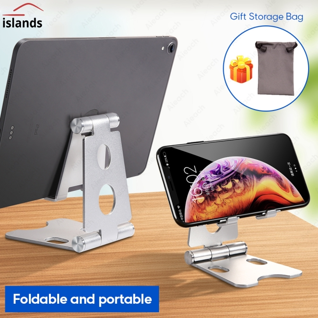 Aluminium Adjustable Fold Holder Tablet Stand Tablet Desktop Holder Tablet Stand