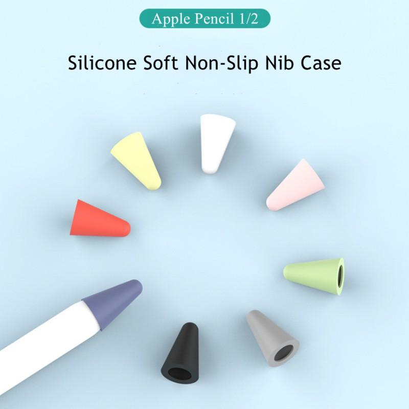 For Apple Pencil 1/2 Apple Pen Tip Protection Cap Case 8 Pieces Nib Case