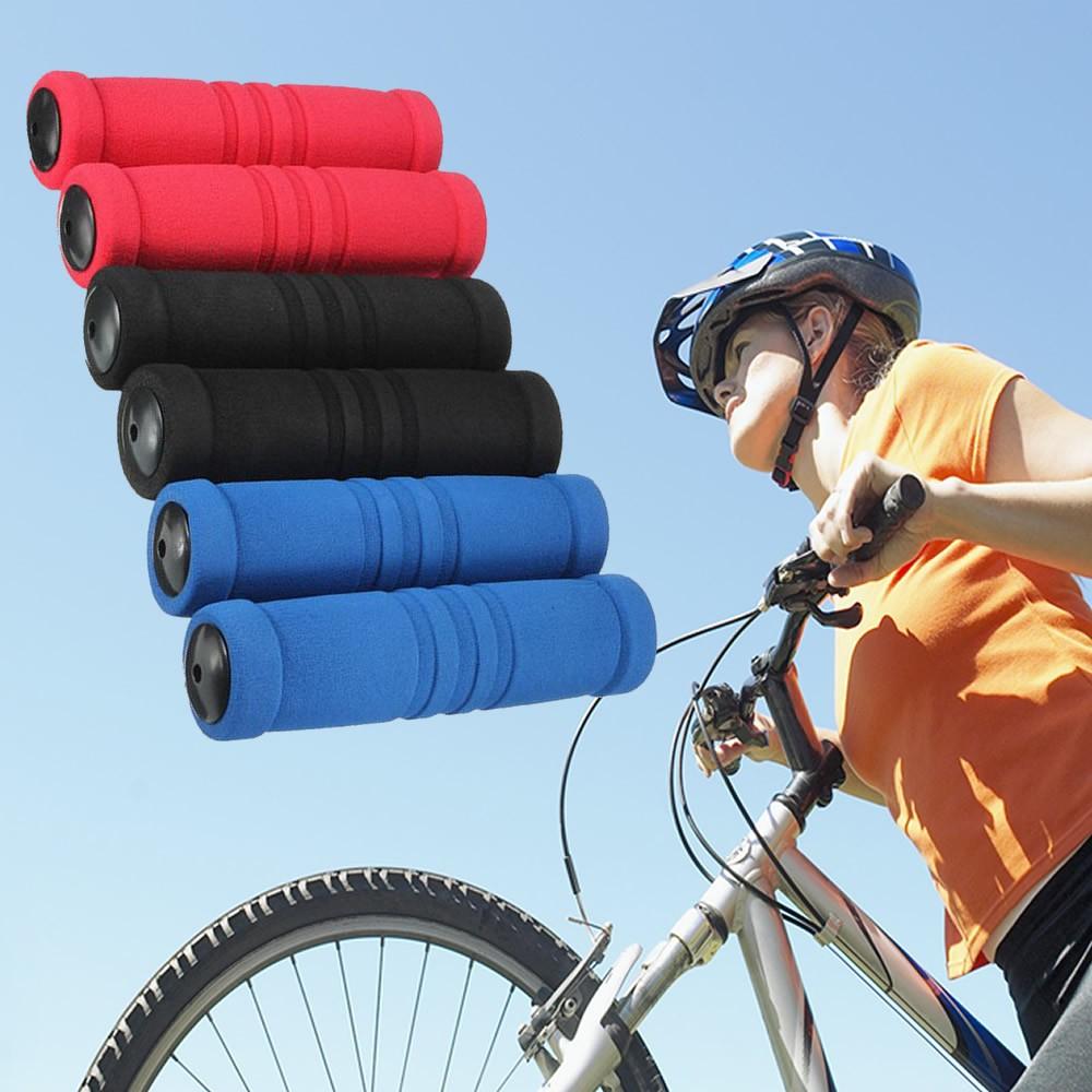 2x Sponge Foam Bicycle Handle Mountain Riding Road Bike Bar Grip Soft Cover Set