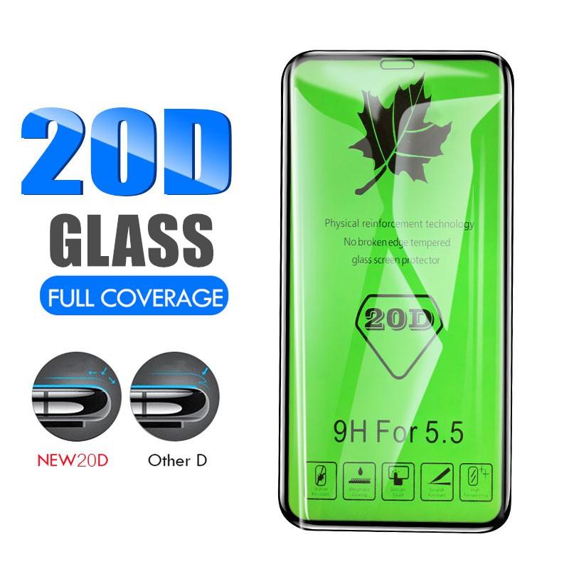 【20D】ฟิล์มกระจก IPhone X XS MAX XR 8 6 6s 7 Plus 6 6s Plus 9H Tempered  Glass ฟิล์ม เต็มจอ