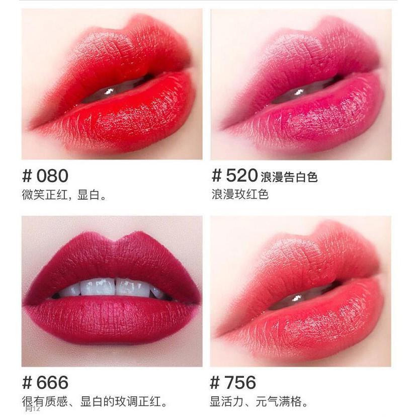 ✤❧ของแท้ Dior Lipstick Intense Blue Gold 888 999 666 840 080720 Gift Box Dress