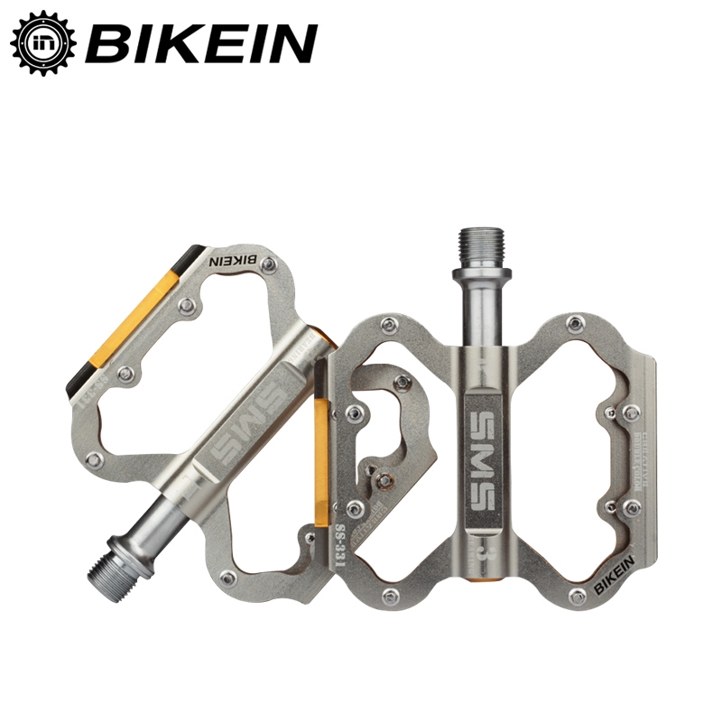 Mountain Road BMX MTB Bike Bicycle 3 sealed Bearings Pedals Flat Platform Pedal