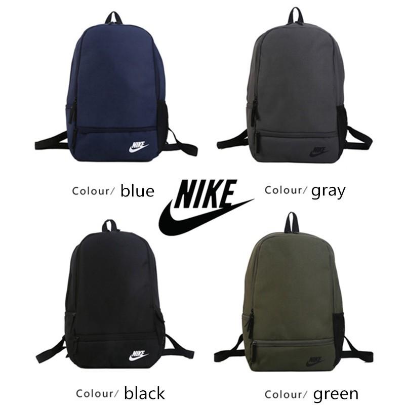 กระเป๋าเป้สะพายหลัง Nike Backpack Backpack กระเป๋านักเรียนสำหรับเดินทางกลางแจ้ง