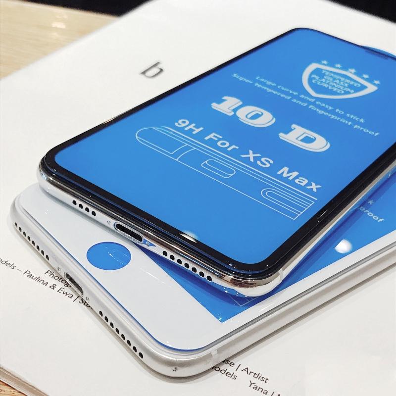 ฟิล์มกันรอยหน้าจอ 10 D สําหรับ Iphone 6 7 8 Plus Apple Iphone Xs Xr Se2 11 12 Pro Max 12 Pro 12 mini i12