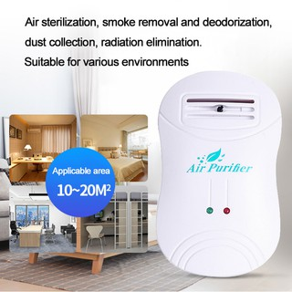 Mini Air Ozonizer Negative Ion Generator Purifier Ozone Ionizer Sterilization Ge