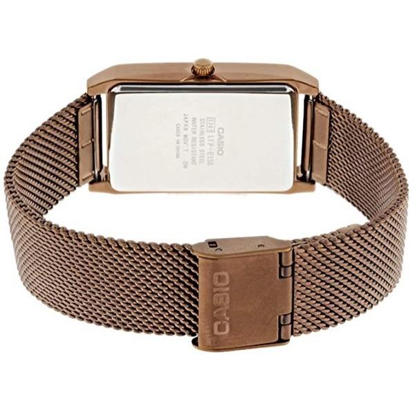 นาฬิกาข้อมือ Casio Standard นาฬิกาข้อมือผู้หญิง สายสแตนเลส รุ่น LTP-E156M ประกัน 2 ปี pGuB