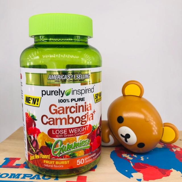 พร อมส ง Purely Inspired Garcinia Cambogia Gummie Shopee Thailand