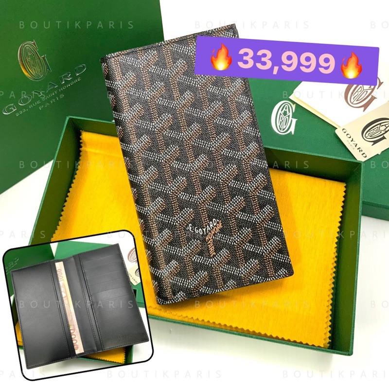 สต๊อคพร้อมส่ง New Goyard Bi Fold Long Wallet กระเป๋าสตางค์ใบยาว รุ่นแบน