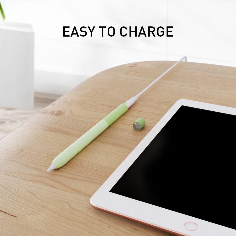 Hxjv พร้อมส่งปลอก Apple Pencil 1&2 รุ่นใหม่ เคส ปากกา ซิลิโคน ปลอกปากกาซิลิโคน เคสปากกา Apple Pencil Silicone เคสซิลิโคน