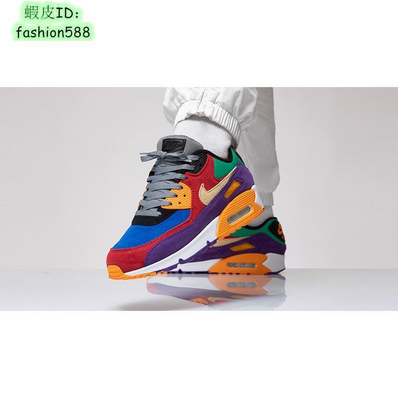Nike Air Max 90 Viotech Multi CD0917-600  MAX90 拼接
