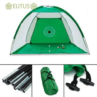 🌸EUTUS🌸 Sports Equipment High Quality Great training aid Easy to set up Durable Mesh Material Golf Driving Cage