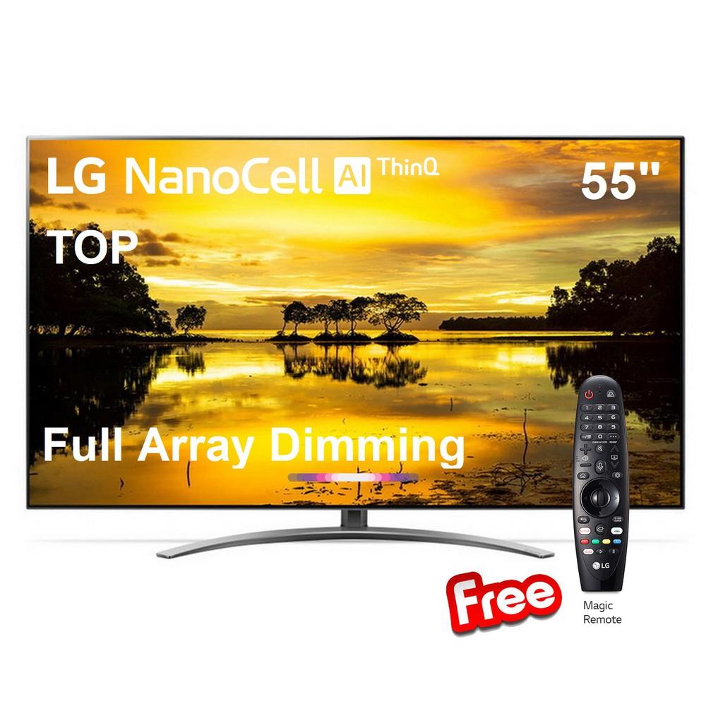 LG 55 นิ้ว รุ่น 55SM9000PTA Full Array NANO CELL 4K SMART TV  Clearance จอดีไม่มีตำหนิ