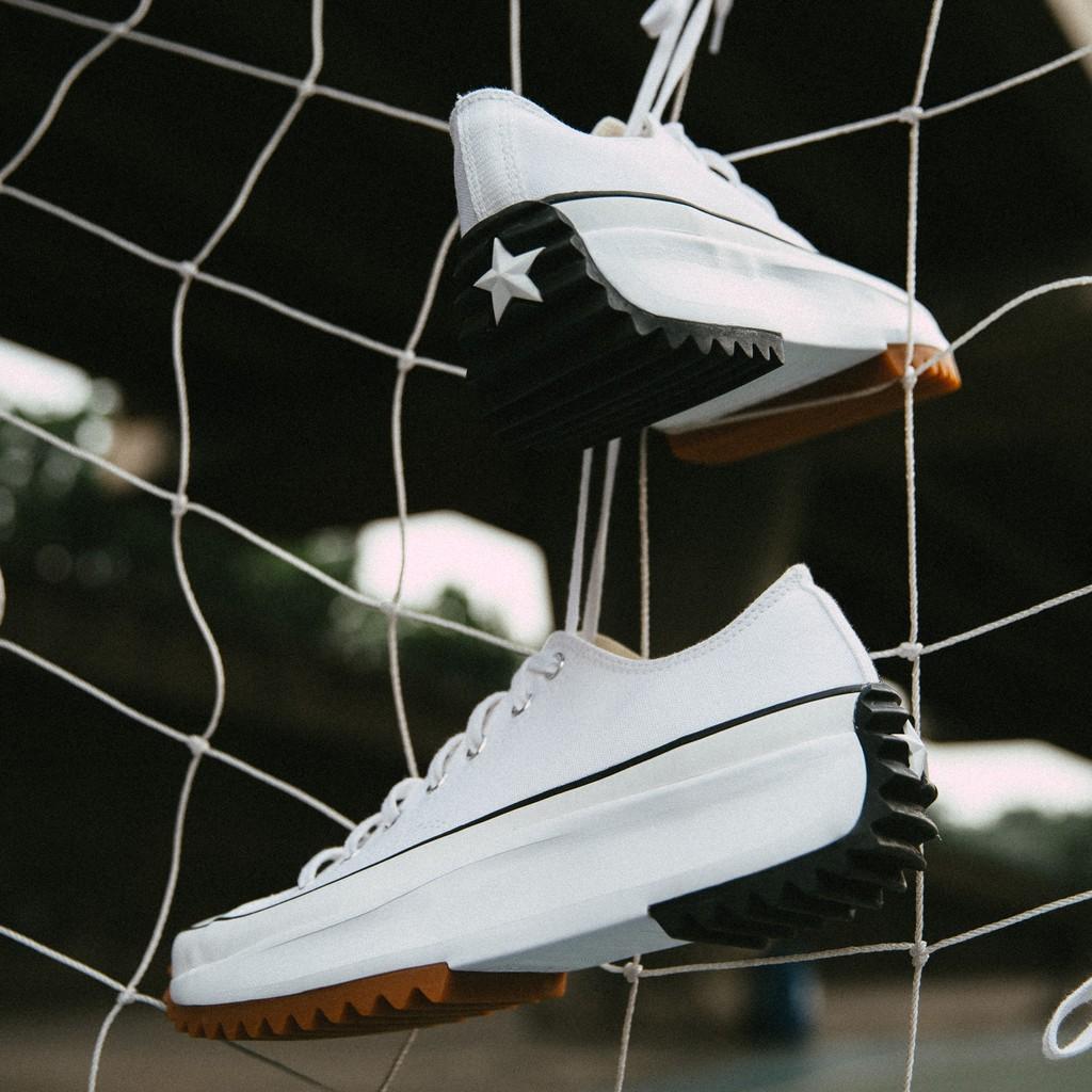รองเท้า CONVERSE RUN STAR HIKE OX (White / Black)  ขาว ดำ ของแท้ ของใหม่ พร้อมส่ง