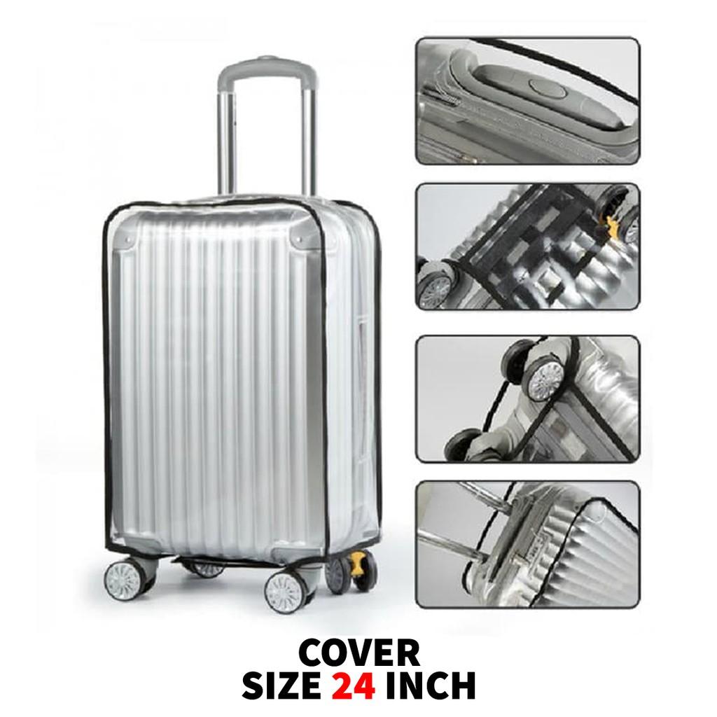ผ้าคลุมกระเป๋าเดินทาง / ผ้าคลุมกระเป๋าเดินทาง / ผ้าคลุมกระเป๋าเดินทางขนาด 24 นิ้ว
