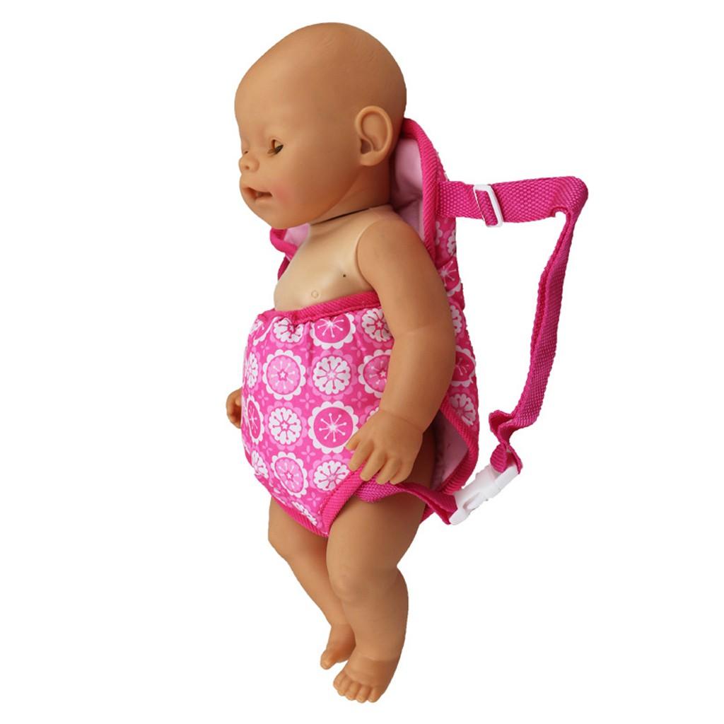 กระเป๋าเป้สะพายหลังกระเป๋าเดินทางขนาด 18 นิ้วสีชมพู