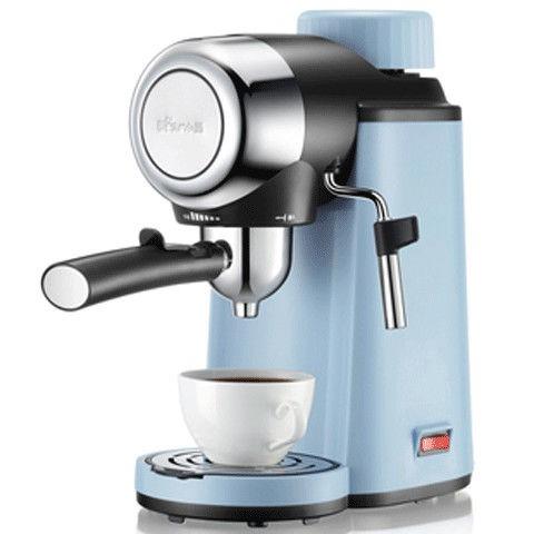Bear / หมีน้อย KFJ-A02N1 เครื่องชงกาแฟที่บ้านทำอาหารอิตาเลี่ยนโฟมนมไอน้ำขนาดเล็กกึ่งอัตโนมัติ