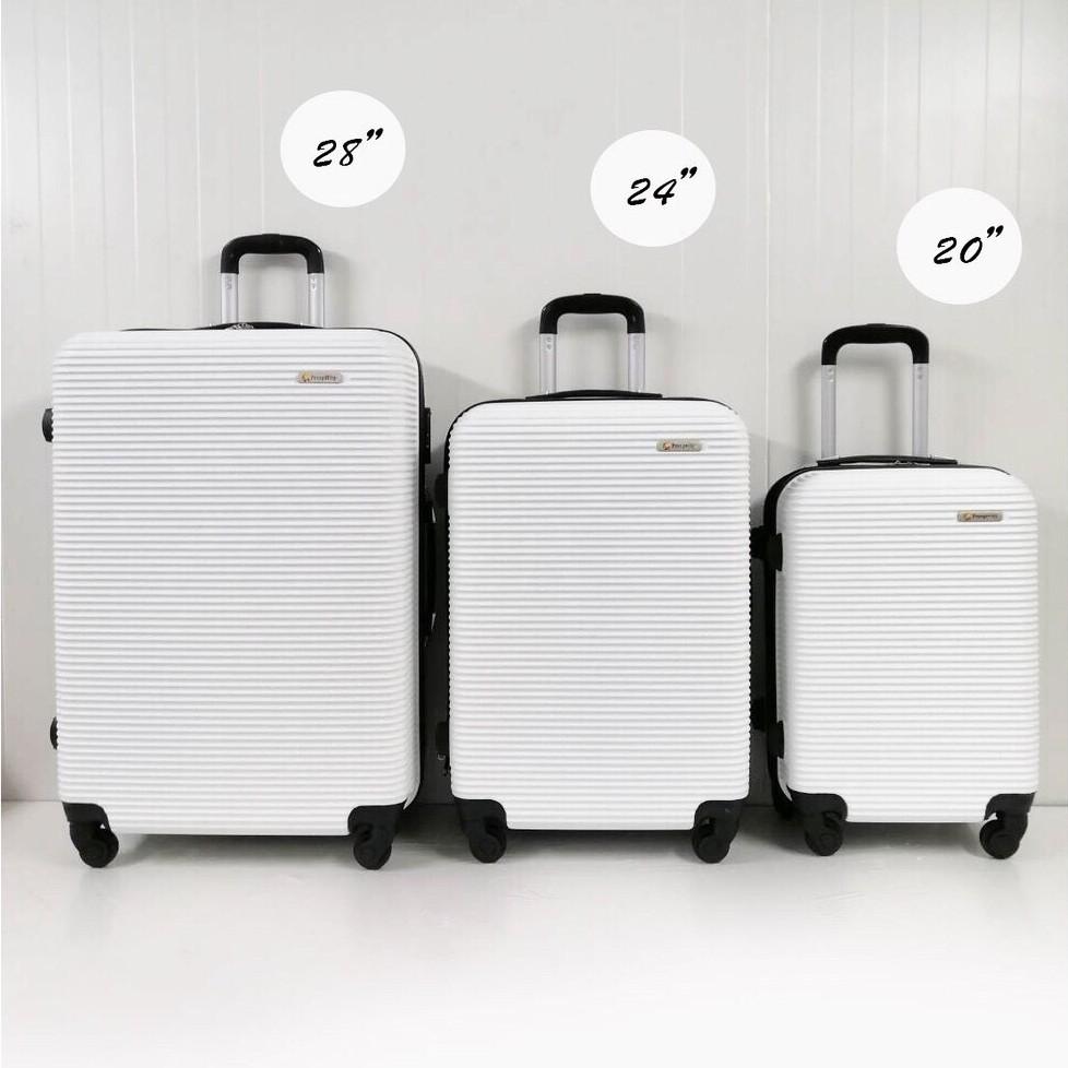 กระเป๋าเดินทาง กระเป๋าล้อลาก มีขนาด 20 นิ้ว 24 นิ้ว 28 นิ้ว แข็งแรง ทนทาน ล้อ รุ่น 8018