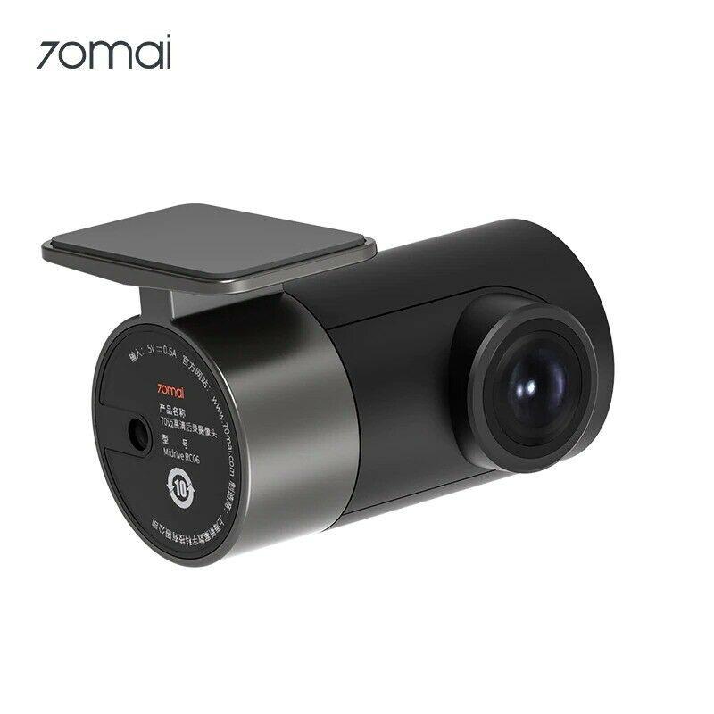 กล้องหลังของ Xiaomi 70mai A800 GPS Smart Dash Cam การบันทึกวิดีโอในรถยนต์ RC06